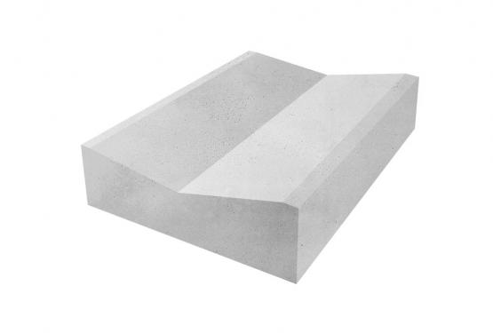 Блок прикромочный железобетонный